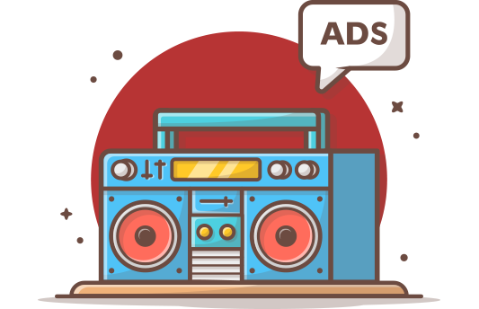 TV & Radio Ads
